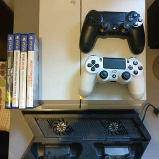 Ps4 used 500gb white fat