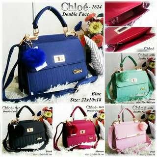 Tas chloe 1236 double face / tas wanita / tas import / tas branded