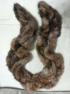 🚚 貂皮圍巾  便宜賣