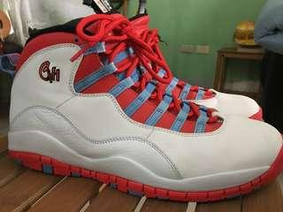 🚚 Air Jordan 10 Chicago 城市紀念款