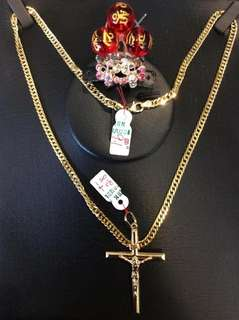 18k Pure Saudi Gold Necklace $350 per grms