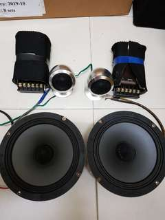 Hertz MID bass HV165 + tweeter HT25
