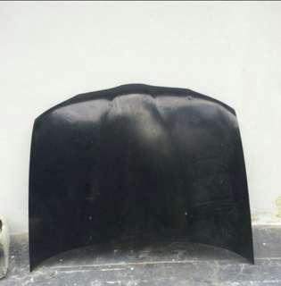 Bonet Proton Wira hitam ori halfcut