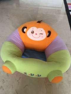 Baby sitting prop