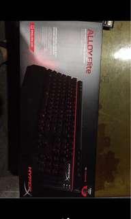 🚚 電競機械鍵盤Hyper alloy elite紅軸