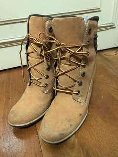 🚚 Timberland 經典黃靴高跟鞋