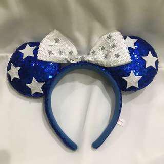 (Preloved) Bando/Headband Disney Minnie Blue (Original)