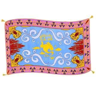 日本 Disney Store 直送阿拉丁 Aladdin 燈神 Genie 魔毯 / 飛毯造型大毛巾 / 沙灘巾