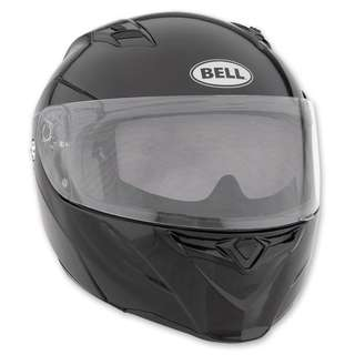 Bell Revolver Evo SIZE MEDIUM ONLY Solid Gloss Black Adult Modular Flip Up Street Motorcycle Motorbike Helmet D.O.T. Certified