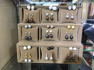 Baroque earring pearl