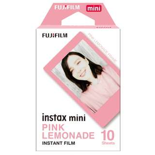 Fujifilm Instax Mini Pink Lemonade Instant Polaroid Film