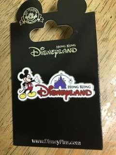 Disney pin。迪士尼襟章 正品全新