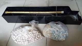 水族 過濾 上部 系統 含陶瓷環 3-4尺用 便宜賣
