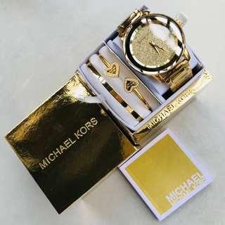 🚚 《全新正品》MK超精美三件套錶組 超划算 必入款