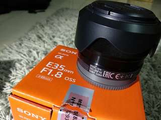 Sony Lens 35mm f1.8 OSS