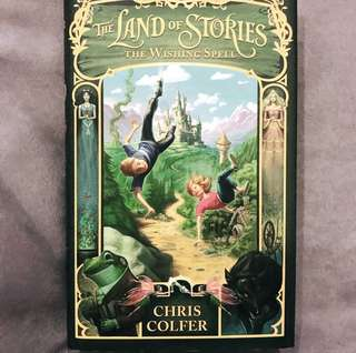The Land of Stories: The Wishing Spell (Hard Cover)