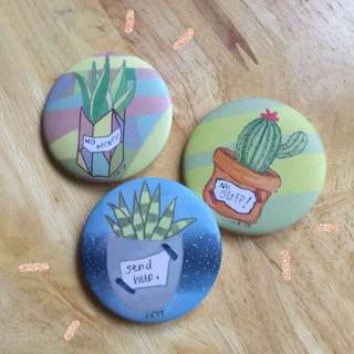 Plants with Problems pin set