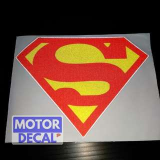 Superman Reflective Decal