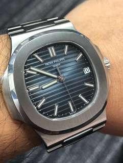 Patek Philippe 5711 steel blue dial