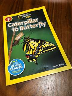 National Geographic Kids - Caterpillar to Butterfly (Level 1)