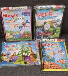 Magic colouring book