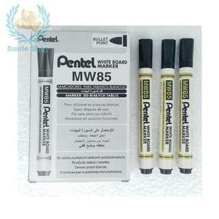 Spidol PENTEL Whiteboard Marker MW85 ( per pcs )