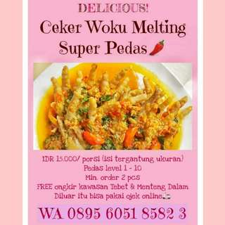 Celer Woku Pre order, READY SABTU  14 JULY 2018