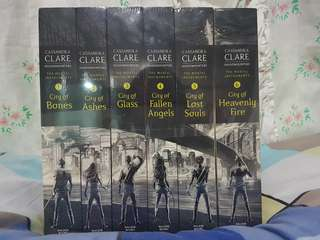 The Mortal Instruments Series (Book Set 1-6)