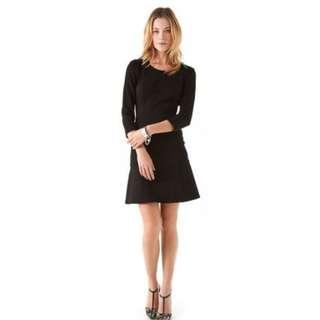 DKNY Womens Black open back cocktail dress 4