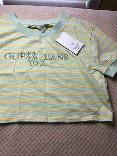 A$AP x GUESS women's cropped tshirt (limited edition)