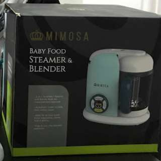 MIMOSA BABY FOOD STEAMER & BLENDER