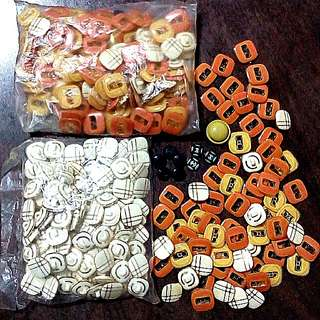 Buttons ($0.05 - $0.90)
