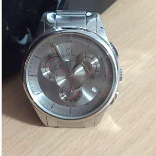 Calvin Klein 四環造型競速計時腕錶