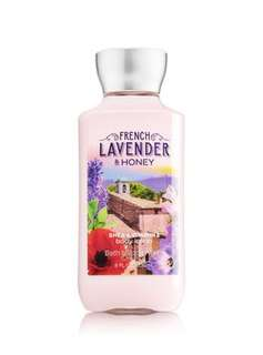 BN Bath & Body Works Signature Collection FRENCH LAVENDER & HONEY Body Lotion 236ml