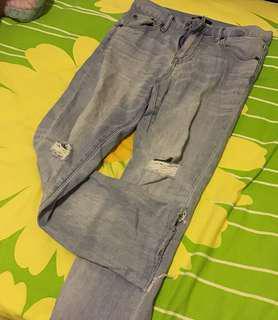 Uniqlo 直筒牛仔褲