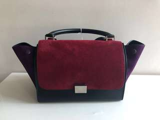 全新 Celine Trapeze Bag small