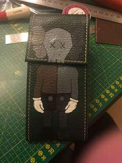 Kaws painting / genuine rolex watch pouch
