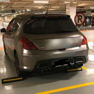 Peugeot 308 4speed bumper need to sell , convert to 6 speed difusser
