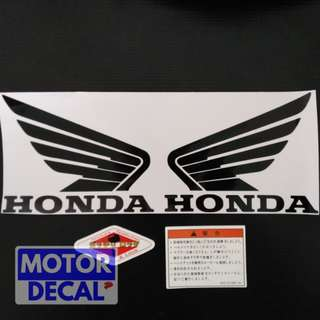 Honda wing set