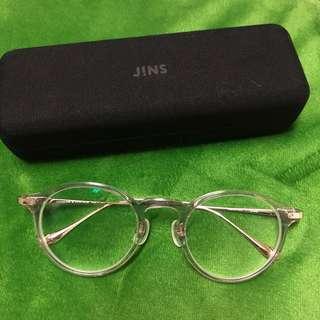 🚚 JINS 透明眼鏡