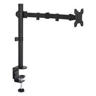 "[IN-STOCK] VIVO Single LCD Monitor Desk Mount Stand Fully Adjustable/Tilt/Articulating for 1 Screen up to 27"" (STAND-V001)"