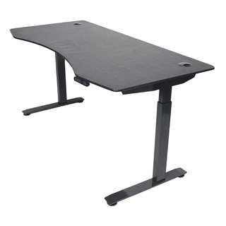 "[IN-STOCK] ApexDesk Elite Series 60"" W Electric Height Adjustable Standing Desk (Memory Controller, 60"" Top in Black, Black Frame)"