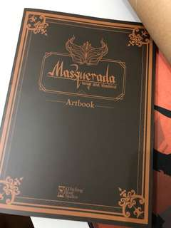 Masquerada Art Book
