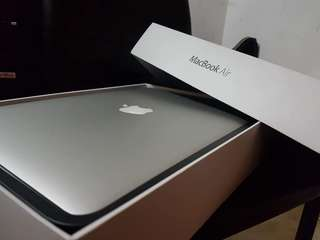 "Macbook 2014 13"" with Box (Rush!!)"