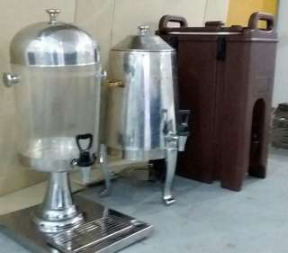 Transparent Water dispenser For Rental All Occasions Event