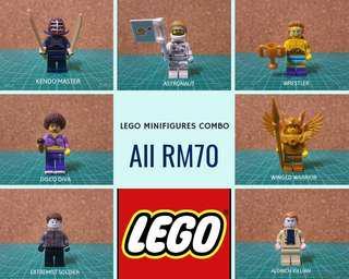 Lego Minifigures Combo