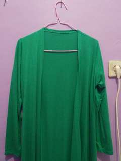Green long outer