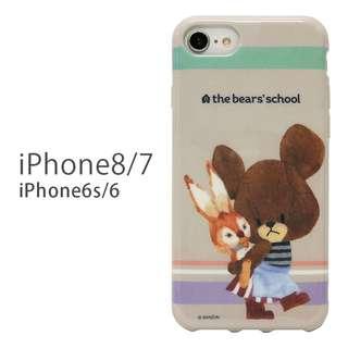 日本正版 The Bears School 小熊學校 iPhone8/7 case 手機殼 軟殼