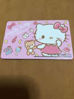 Hello kitty ezlink Card 2018 limited edition