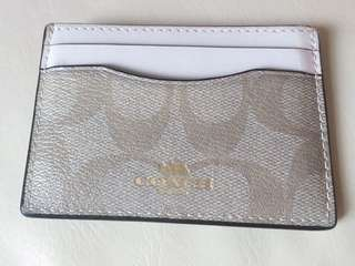 Coach logo pattern Card Holder